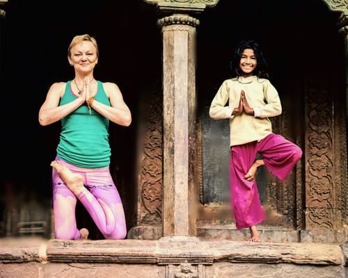 When Ancient and Modern Yoga Meet